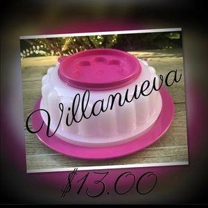 Tupperware Small Jel-ring Jello Gelating Mold